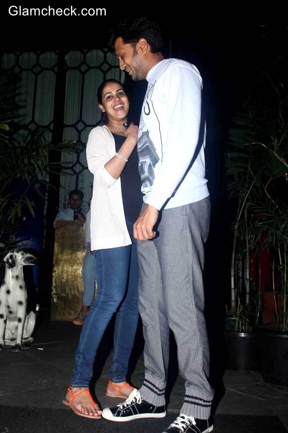 Couple Riteish Deshmukh and Genelia DSouza 2014 pics