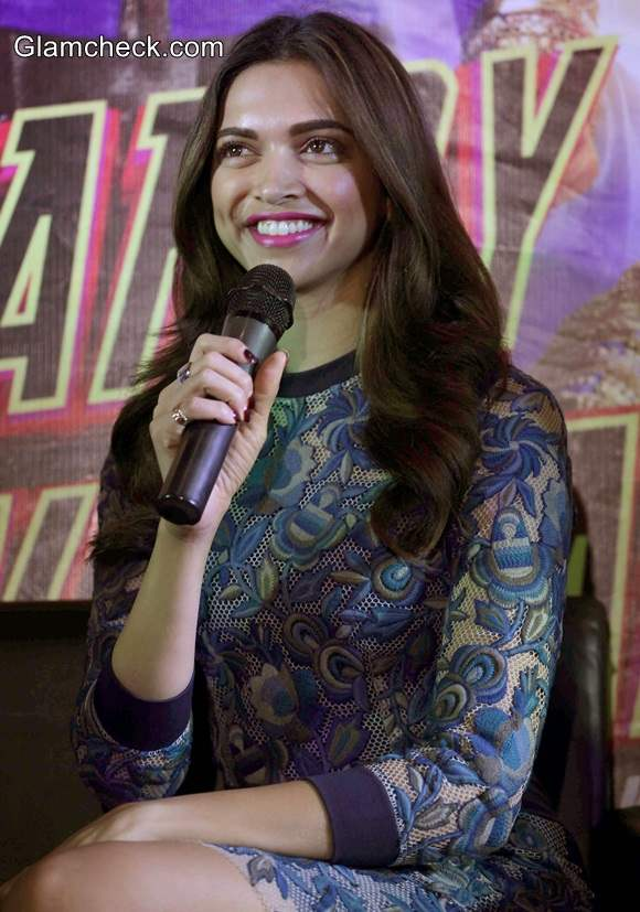 Deepika Padukone Promotes Happy New Year movie
