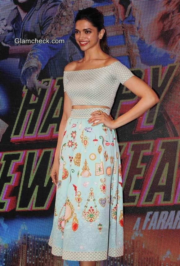 Deepika Padukone at Happy New Year latest track Sharabi Release