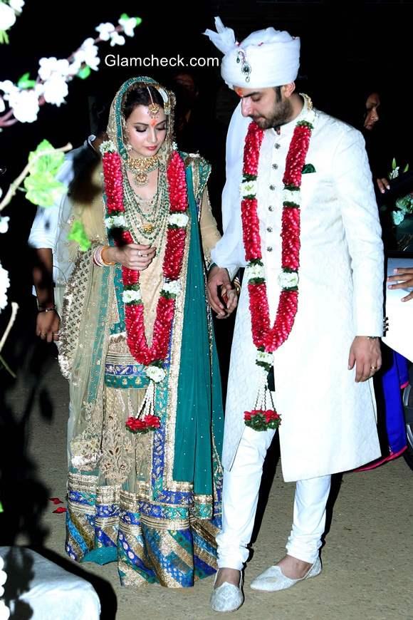 Dia Mirza Gets Married to Sahil Sangha pics