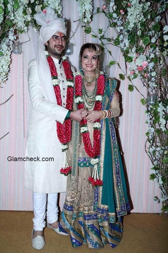 Dia Mirza Gets Married to Sahil Sangha
