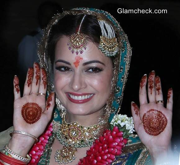 Dia Mirza Marriage Pictures