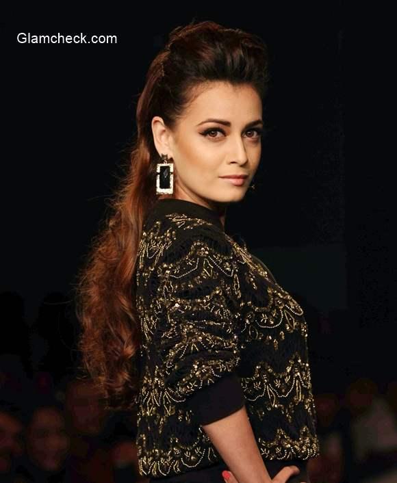 Dia Mirza at Myntra Fashion Weekend 2014