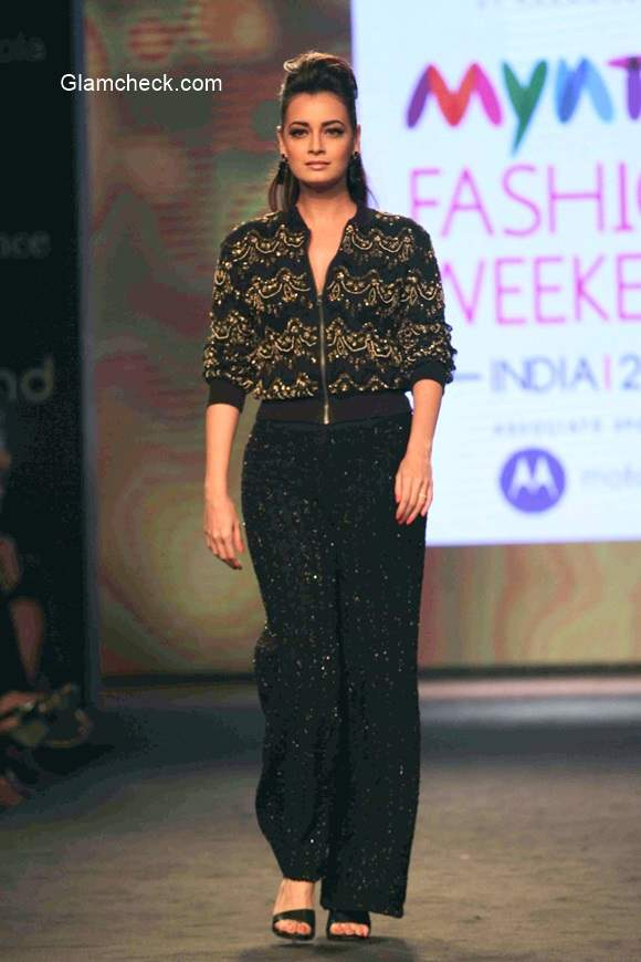 Dia Mirza at the Myntra Fashion Weekend 2014