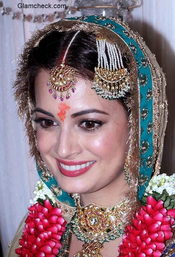 Dia Mirza on her wedding pics