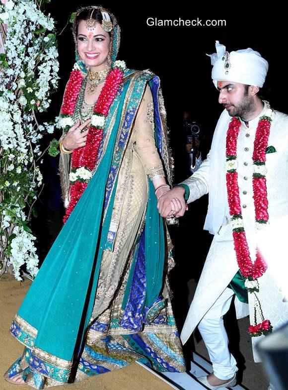 Dia Mirza wedding pics