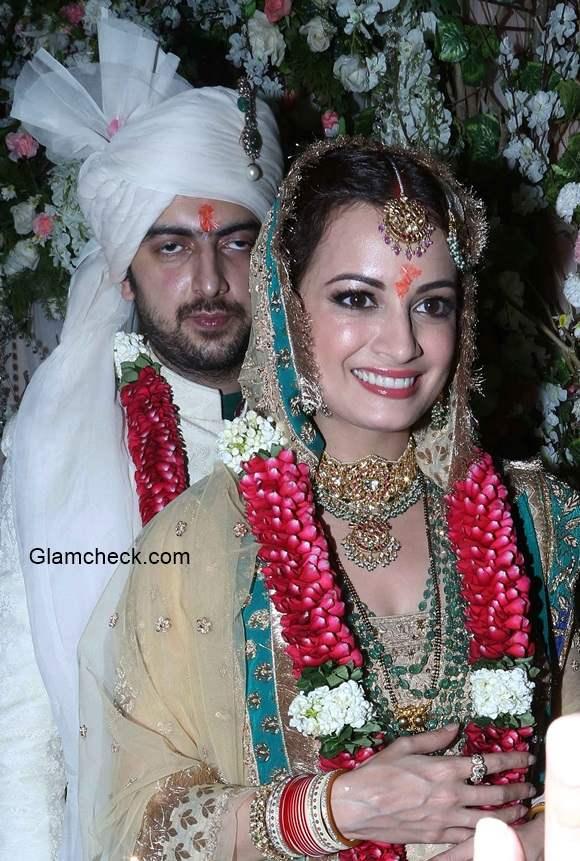 Dia Mirza wedding pictures