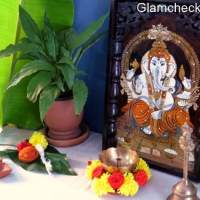 Diwali Puja Area Setup Decoration Idea