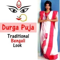 Durga Puja Traditional Bengali Look