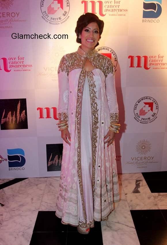 Fashion designer Maheka Mirpuri