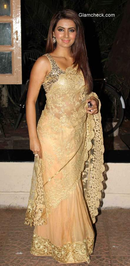 Geeta Basra at Ekta Kapoor Diwali Party
