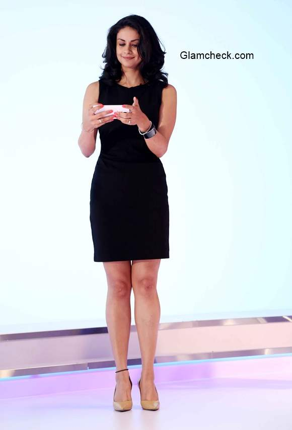 Gul Panag at the launch of Samsung Galaxy Note 4 smartphone in India