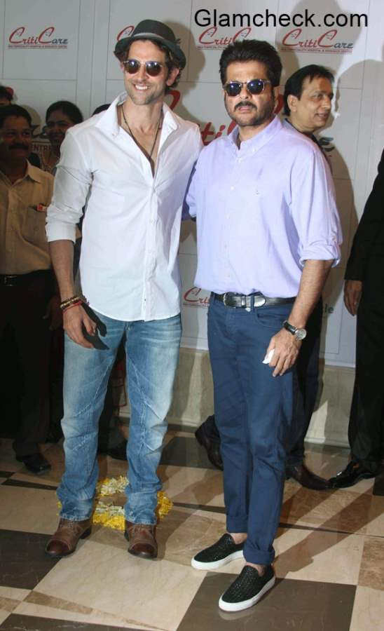 Hrithik Roshan and Anil Kapoor inaugurate Criticare Hospital New Branch