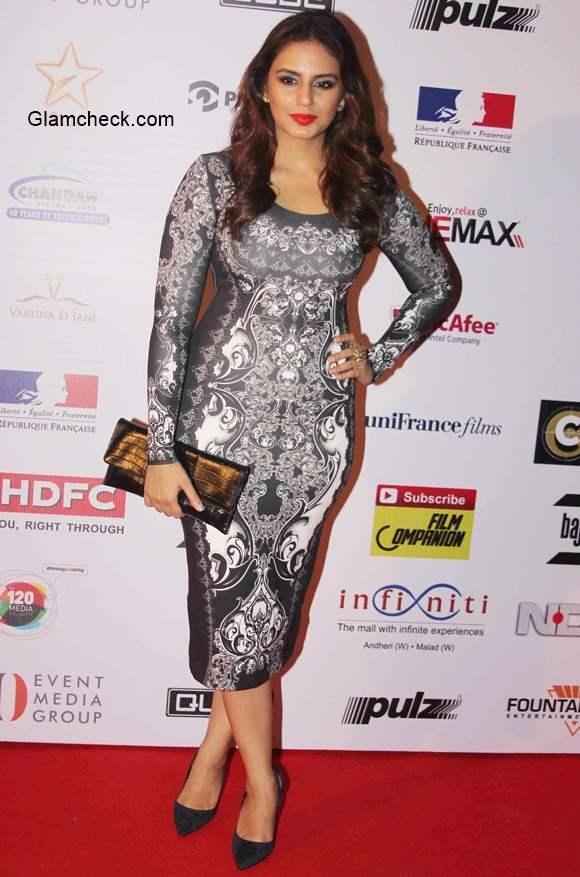 Huma Qureshi 2014 at 16th Mumbai Film Festival pics