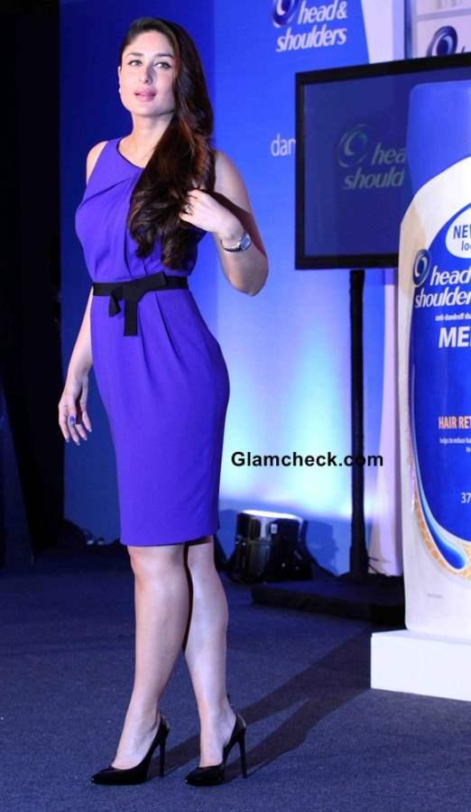 Kareena Kapoor 2014 at the launch of Head Shoulders New Range