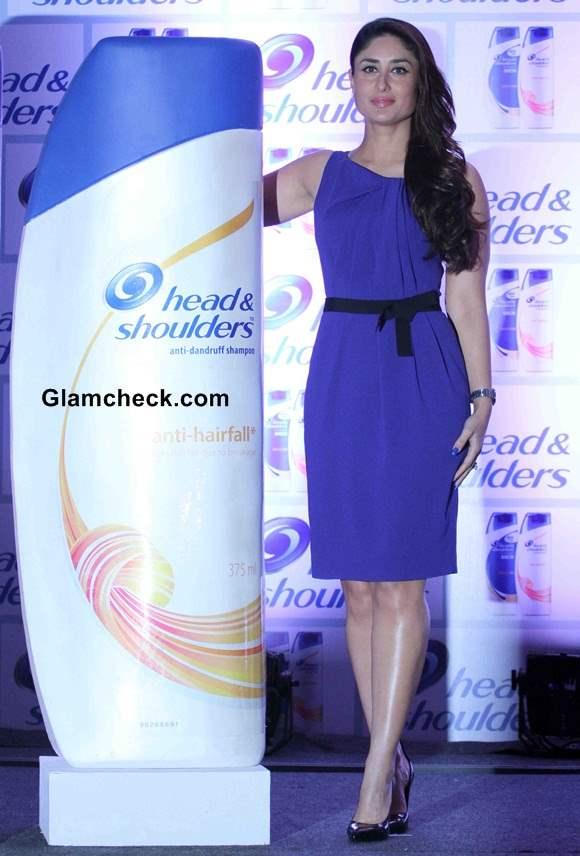 Kareena Kapoor electrifies in blue at the launch of Head Shoulders New Range