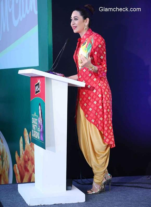 Karisma Kapoor at the launch of McCain foods new outlet