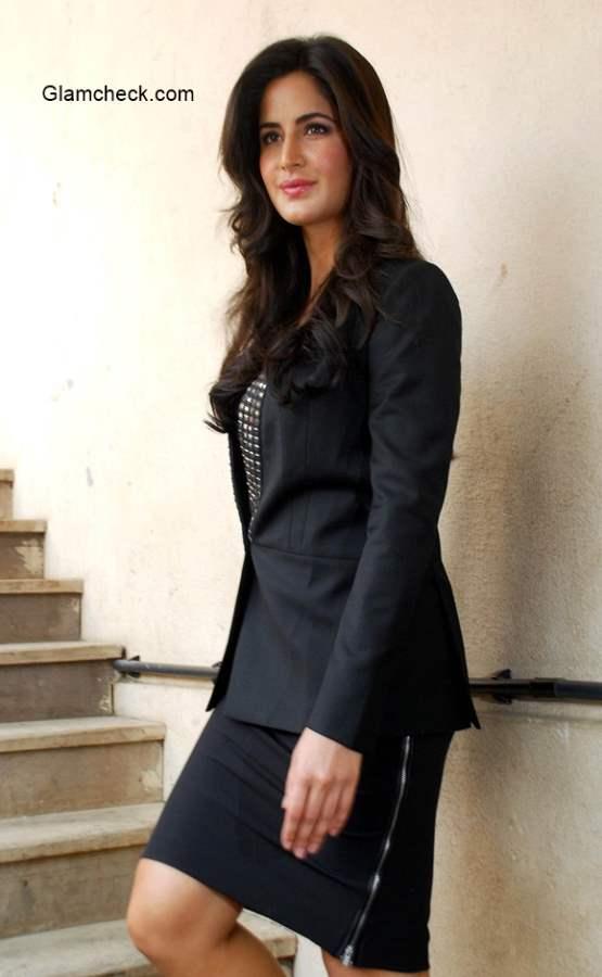 Katrina Kaif in Black Outfit 2014