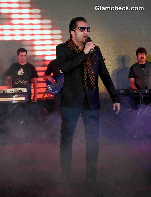 Mika Singh during the launch of Bindass Play