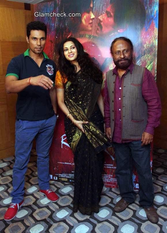Press conference of film Rang Rasiya