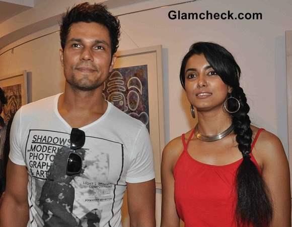 Randeep Hooda and Richa Soni
