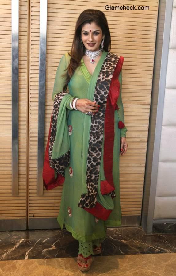 Raveena Tandon 2014 Pics