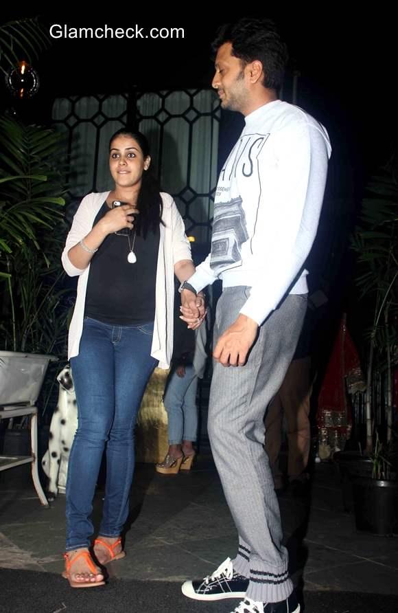 Riteish Deshmukh and Genelia DSouza 2014 pics