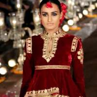 Rohit Bals Gulbagh Collection at WIFW 2014