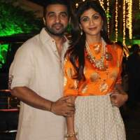 Shilpa Shetty and Raj Kundra Diwali Party