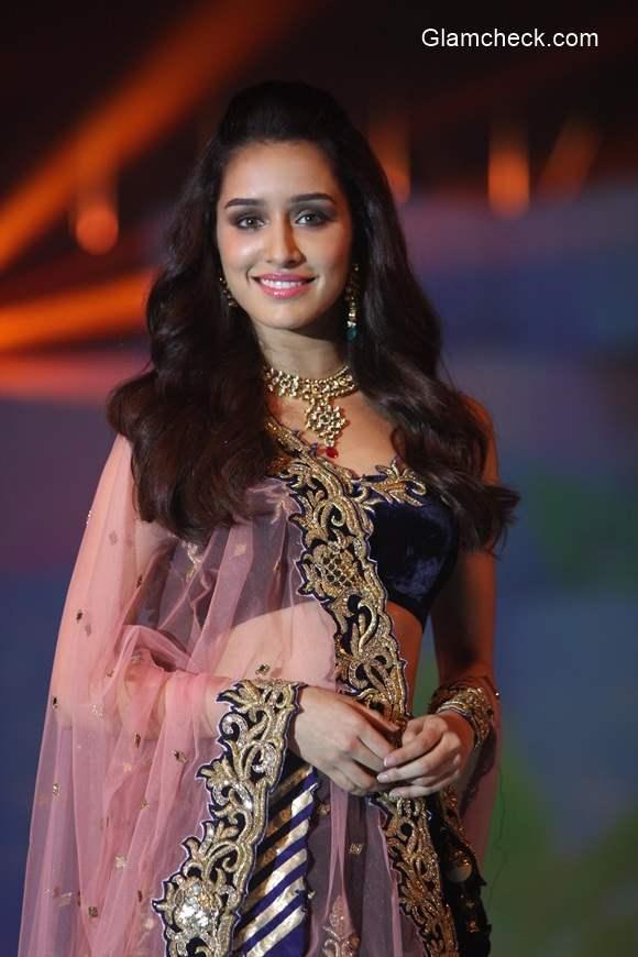 Shradda Kapoor at the IBJA fashion show 2014