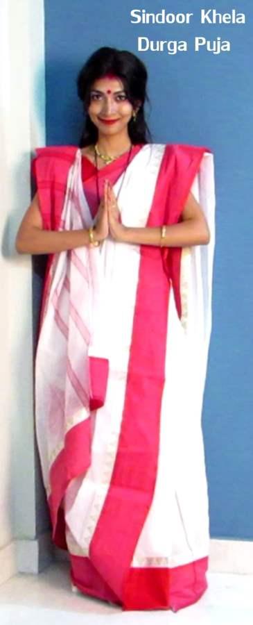 Sindur Khela Durga Puja
