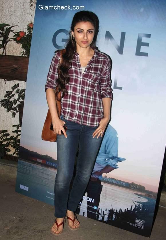 Soha Ali Khan casual look
