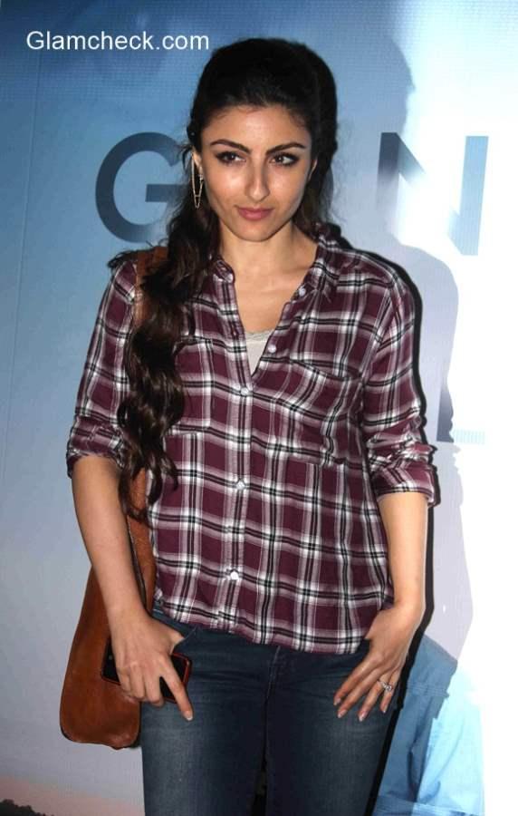 Soha Ali Khan casual style
