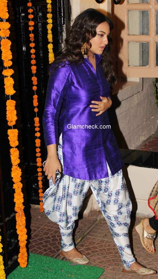 Sonakshi Sinha at Ekta Kapoor Diwali Party