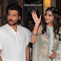 Sonam Kapoor Diwali celebration with her father Anil Kapoor