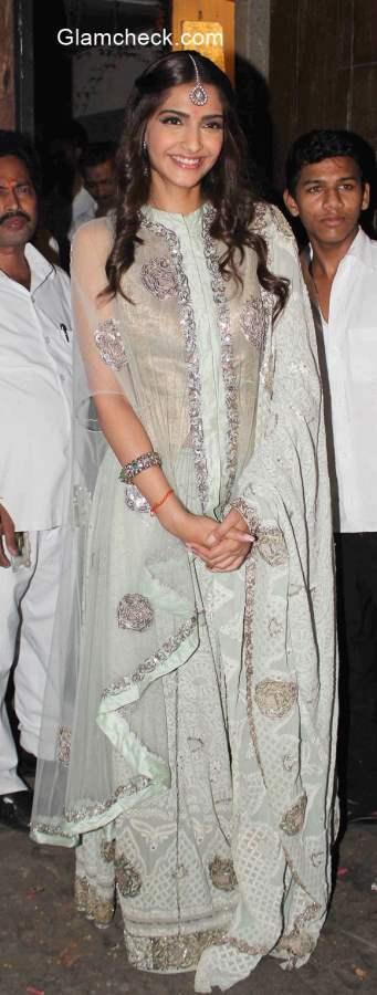 Sonam Kapoor Diwali celebration