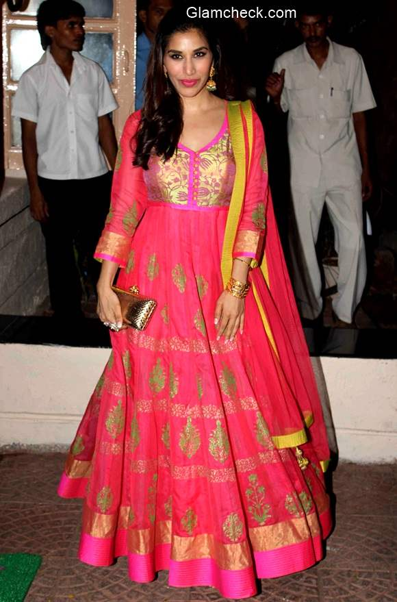 Sophie Choudry at Ekta Kapoor Diwali Party
