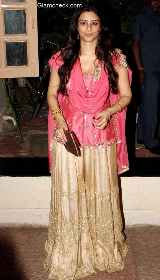 Tabu at Ekta Kapoor Diwali Party
