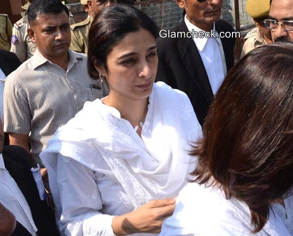 Tabu at a district court for the hearing of Black Buck case in Jodhpur