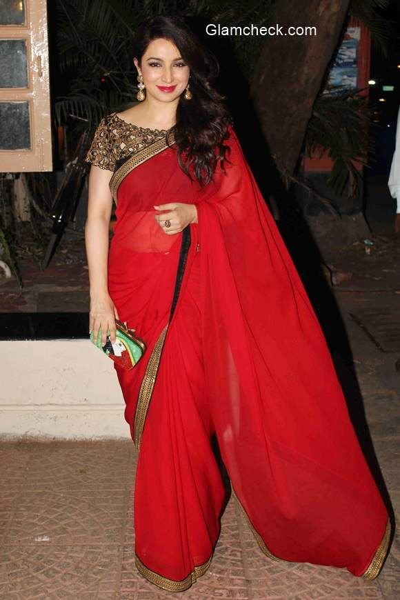 Tisca Chopra at Ekta Kapoor Diwali Party