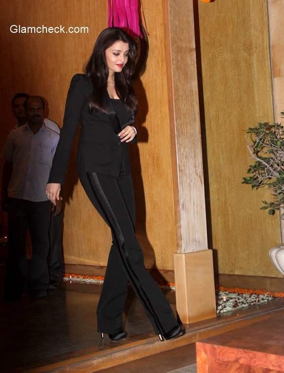 Aishwarya Rai Bachchan suits up in Roberto Cavalli for her 41st birthday Celebration