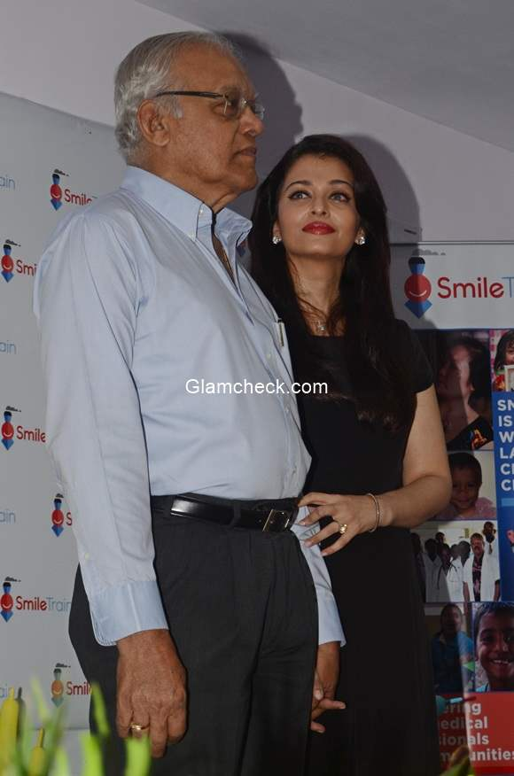 Aishwarya Rai with her Father
