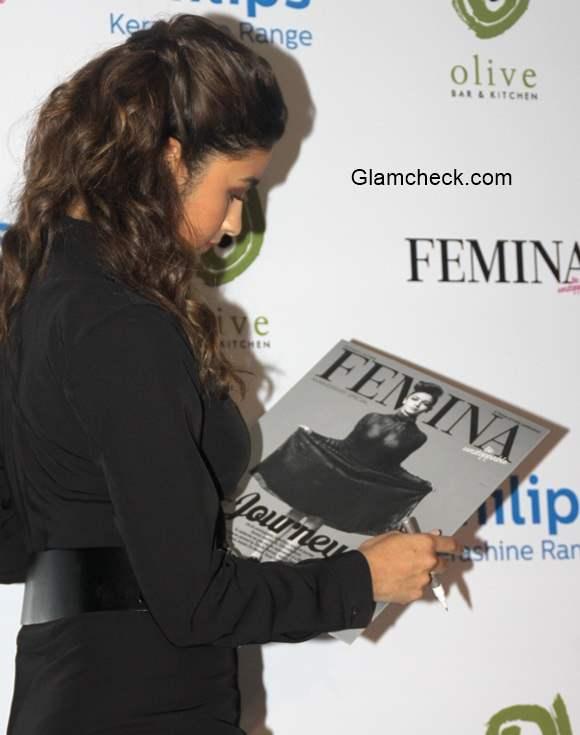 Alia Bhatt launches Femina magazine 55th Anniversary issue 2014