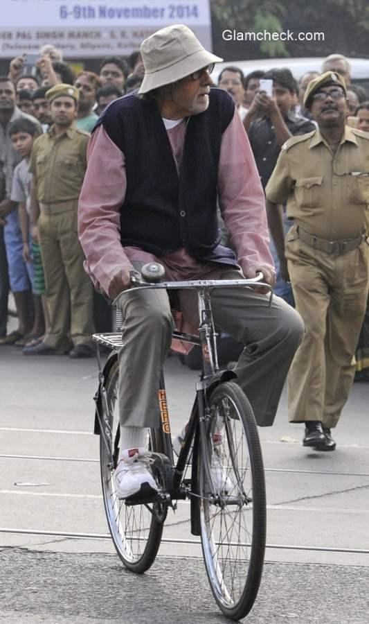 Amitabh Bachchan new look for Piku