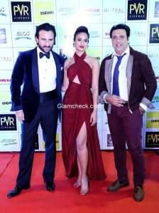 Cast of Happy Ending at New Delhi Premiere