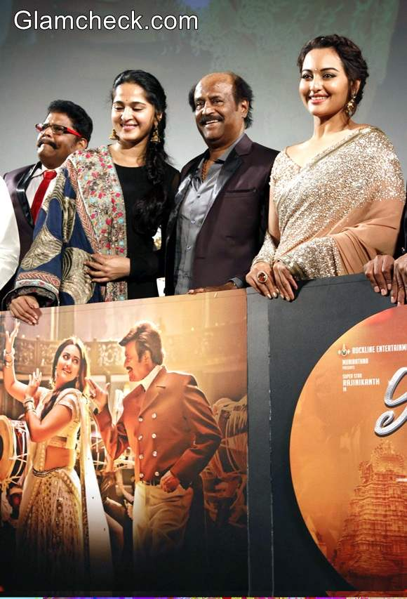 Cast of Lingaa Launches Trailer and Music in Chennai