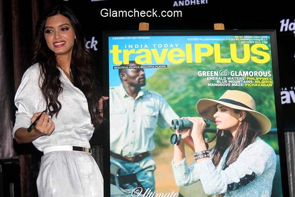 Diana Penty Unveils Travel Plus Cover 2014