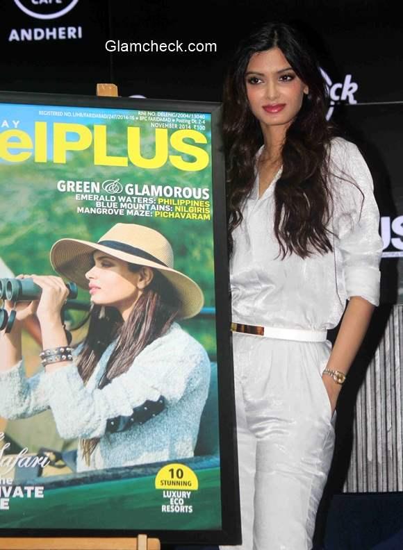 Diana Penty Unveils Travel Plus Cover
