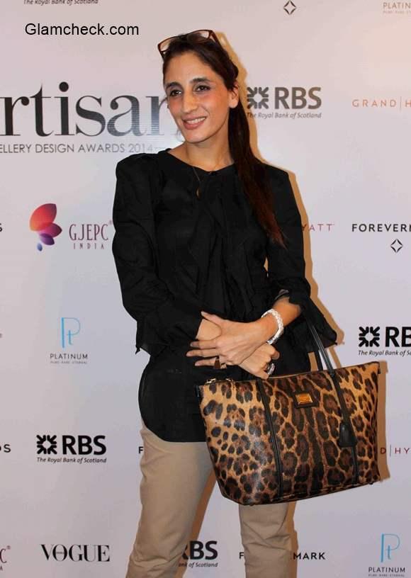 Farah Ali Khan at The Artisan Awards 2014 Final Round of Screening