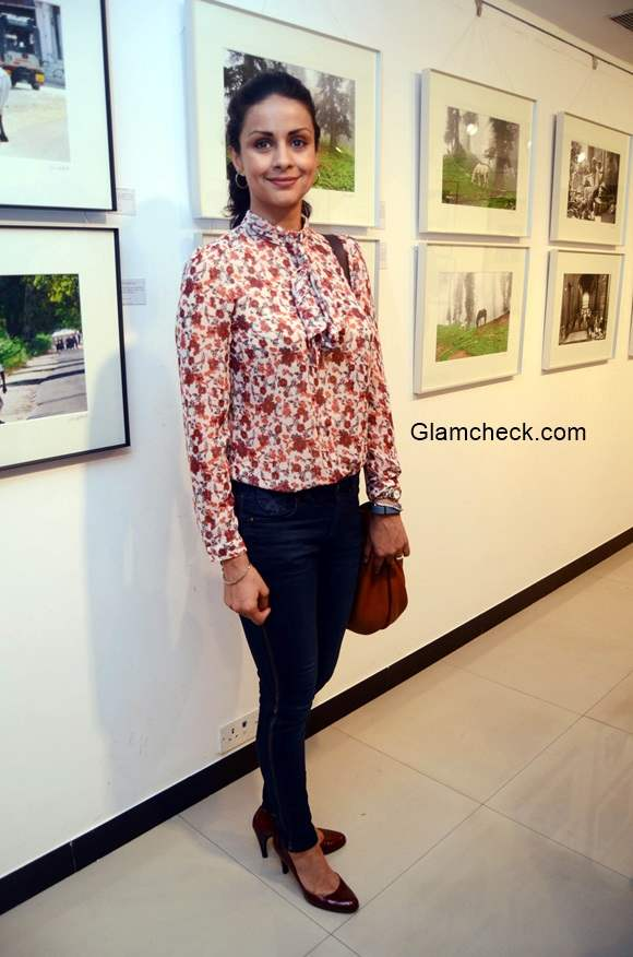 Gul Panag at The Melted Core Launched by Nisheeth Bhatt